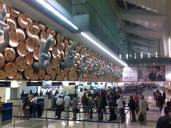 ニューデリー空港